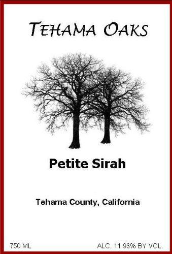 2011 Tehama Oaks Petite Sirah 750 Ml