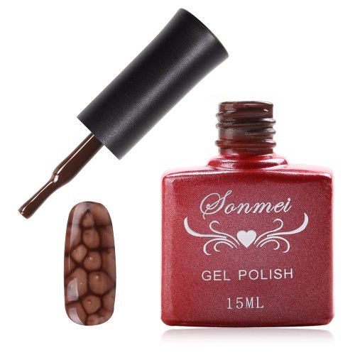 Janmei 1X 15Ml Soak Off Snake Skin Nail Art Tips Polish Led Uv Gel Lamp Diy Q41 Brown