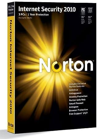 Norton Internet Security 2010 1-User 3PCs