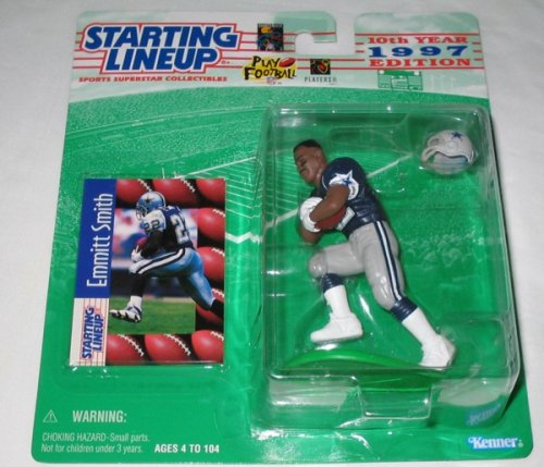 1997 Emmitt Smith Albertsons Store Exclusive NFL Starting Lineup - 1