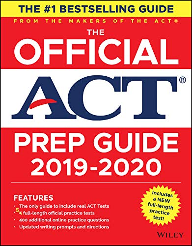 The Official ACT Prep Guide 2019-2020, (Book + 5 Practice Tests + Bonus Online Content) [ACT] (Tapa Blanda)