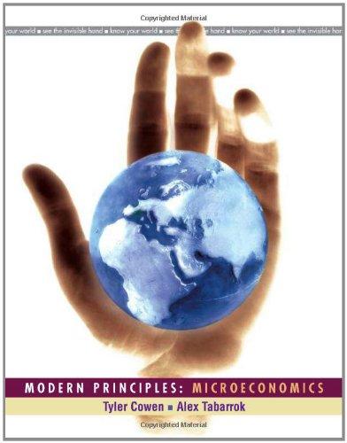 Modern Principles: Microeconomics