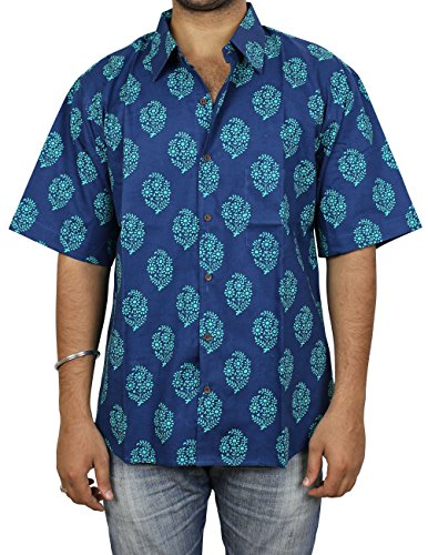 25e747d139 Indian Fashion Accessories For Men Beach Shirt Cotton Printed Comfortable  Airy