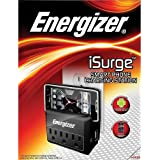 Energizer SPSM Charging Station with 3 Outlet - Retail Packaging - Black