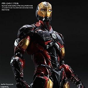Dc Comics Variant Play Arts Kai Iron-man Action Figure