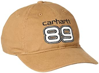 Carhartt Men's Work Flex 89 Cap, Brown, Medium/Large