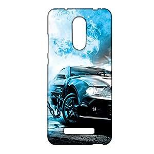 ezyPRNT Speed Trap 2 Mobile Back Case Cover for Xiaomi Redmi Note 3