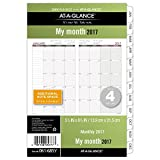 "Day Runner Monthly Planner Refill 2017, Loose Leaf, 5-1/2 x 8-1/2"", Size 4 (061-685Y)"