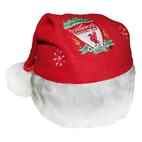 Liverpool FC Novelty Christmas Santa Hat