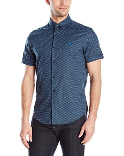 Original Penguin Men's Printed Foulard Shirt