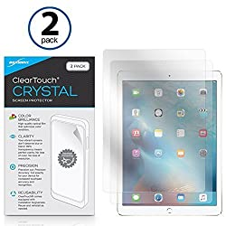iPad Pro Screen Protector, BoxWave® [ClearTouch Crystal (2-Pack)] HD Film Skin - Shields From Scratches for Apple iPad Pro