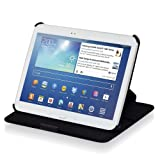 Manna - Sacoche/�tui de protection luxe pour Samsung Galaxy Tab 3 10.1 GT-P5200 P5220 P5210 avec fonction de support et EasyStand / Couleur noir