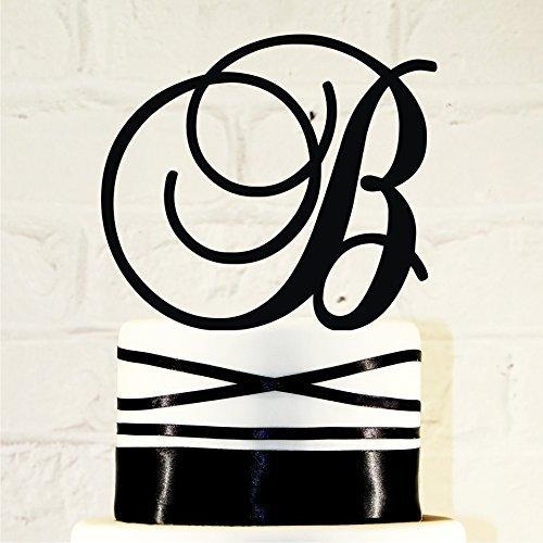 6-inch-monogram-acrylic-wedding-cake-topper-personalized-in-any-letter-a-b-c-d-e-f-g-h-i-j-k-l-m-n-o