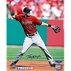 Buy Tommy Manzella Autographed Hand Signed Houston Astros 8x10 Photo by Hall of Fame Memorabilia
