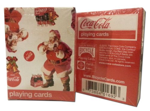 Coca-Cola Mini Playing Cards (Christmas Issue) - 1