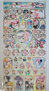 Japan Anime Shugo Chara LARGE Stickers Sheet