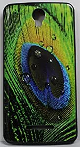 FCS Designer Back Case for Panasonic P50 Idol with Printed Design -46
