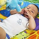 Bebe--Juego de 2-Pijama-Body-Mixta bebé 100% algodón-2negra blanco/azul Talla:9-12 meses