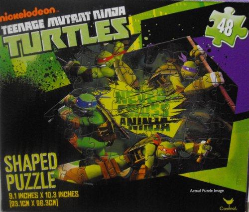 Teenage Mutant Ninja Turtles 48 Piece Shaped Puzzle ~ Never Cross a Ninja