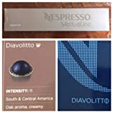10 Capsules Nespresso VertuoLine Diavolitto Coffee