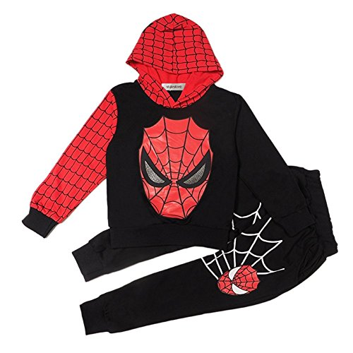 Style (Black Spiderman Costumes Child)