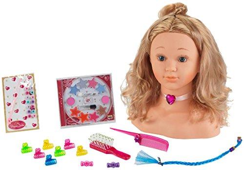 Klein - Busto princesa Coraline (Cabeza para maquillar y peinar)