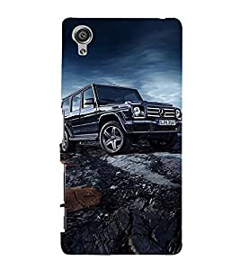 Marvellous Car 3D Hard Polycarbonate Designer Back Case Cover for Sony Xperia X :: Sony Xperia X Dual