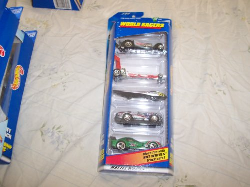 Hot Wheels 1998 World Racers Gift Pack 1:64 Scale