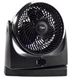 "Ozeri Brezza Oscillating 10"" High Velocity Desk Fan"