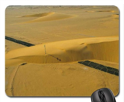 Doomed Highway. Mouse Pad, Mousepad (Deserts Mouse Pad)