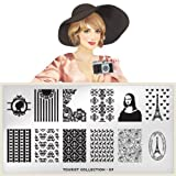 MoYou-London Nail Art Image Plate Tourist Collection 07