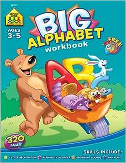 Amazon.com: Big Alphabet Workbook (ages 3-5) (0076645063274): Multiple