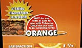 1 Box Juicy Jays 1 1/4 Rolling Papers - Orange Flavored - 24 Packs / 1 Full Box