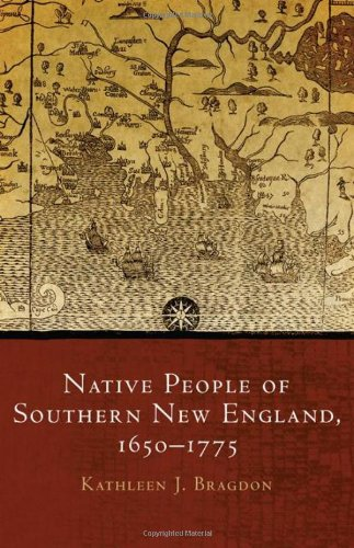 Native People Of Southern New England, 1650-1775 (Civilization Of The American Indian Series) front-995048