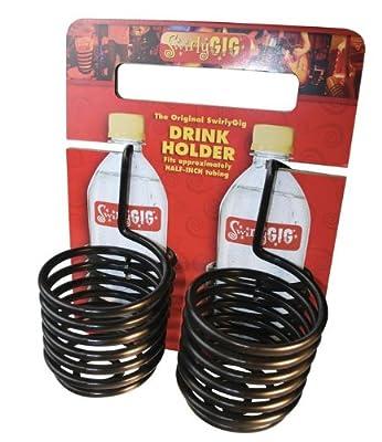 SwirlyGig Original SwirlyGig Drink Holder Two-Pack from SwirlyGig
