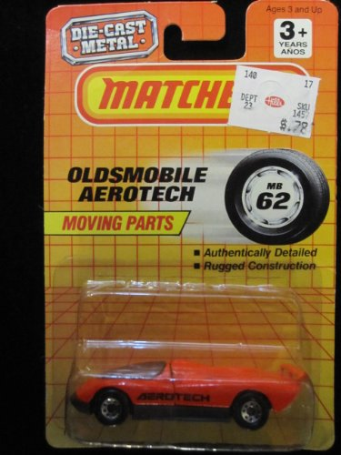 Oldsmobile Aerotech Matchbox Collectible Car 62