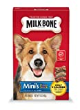 Milk-Bone Minis Flavor Snacks Dog Biscuits, 15-Ounce (Pack of 6)