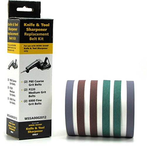 Work Sharp Assorted Belt Kit 09Dx010