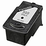 Canon PG510 Black Ink Cartridge - Remanufactured for use with Canon Pixma MP230, MP240, MP250, MP252, MP260, MP270, MP272, MP280, MP282, MP330, MP480, MP490, MP492, MP495 and MP499 Printers by Carooble
