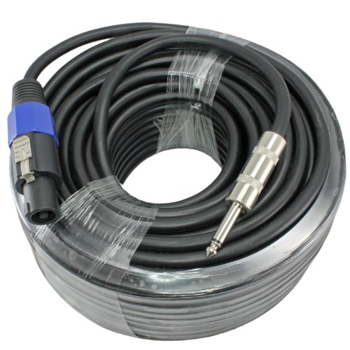"Speakon To 1/4"" Speaker Cable - 14 Gauge (100Ft)"