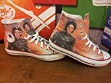 Converse Customized printed Italian style The King of the rock