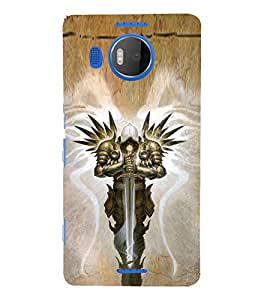 EPICCASE Lord of Ring Mobile Back Case Cover For Microsoft Lumia 950 XL (Designer Case)