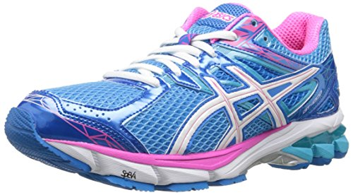 ASICS Women's GT-1000 3 Running Shoe,Turquoise/White/Hot Pink,9 M US (Asics Gt 1000 compare prices)