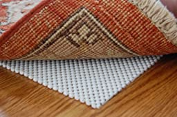 Firm Hold Non Slip Rug Pad 2\' X 3\' for Hard Floor Surfaces