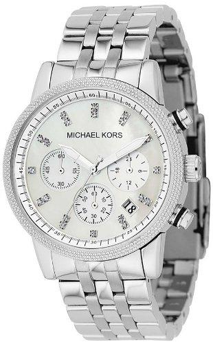 Michael Kors Women's MK5020 Silver Chronograph