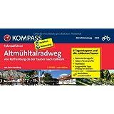 Altmühltal-Radweg von Rothenburg ob der Tauber nach Kelheim: Fahrradführer mit Top-Routenkarten im optimalen Maßstab.