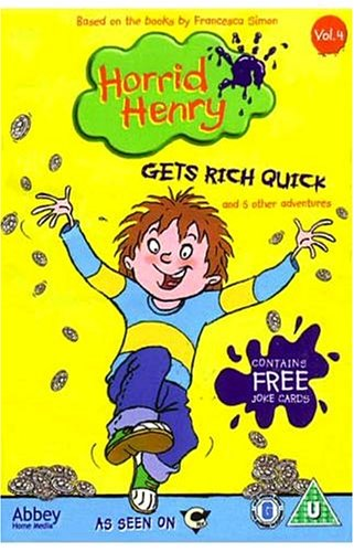 Horrid Henry - Gets Rich Quick [DVD]