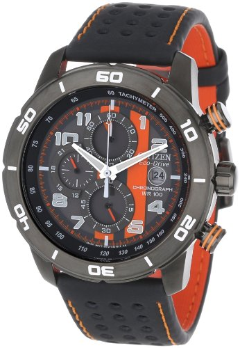 Citizen Men's CA0467-11H Eco-Drive Primo Chronograph Watch