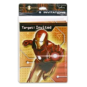 Hallmark Iron Man Party Invitations at Sears.com