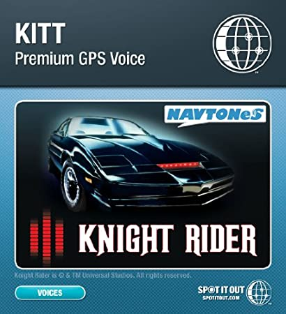 Kitt GPS Voice for Garmin (PC only) [Download]